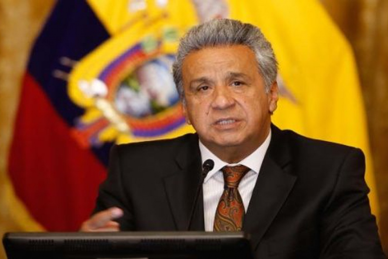 Critics contend that Ecuadorian President Lenin Moreno is seeking to reverse the progressive achievements of his leftist predecessor and move the country to the right